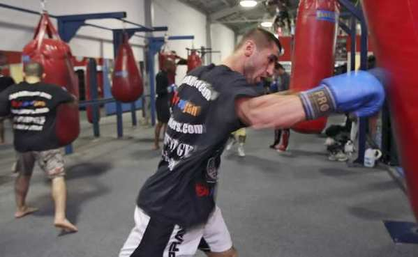 Mixed martial arts fighter Sevak Magakian.