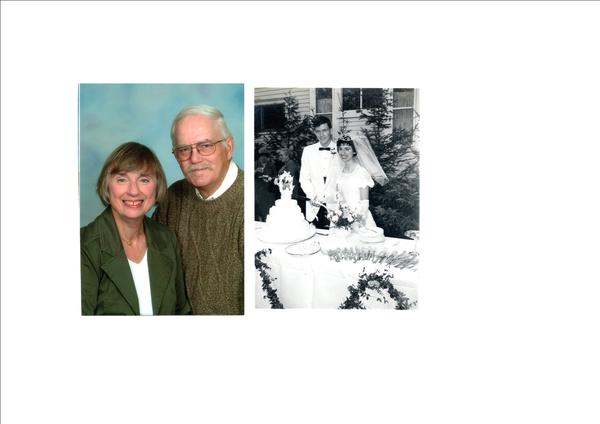 Mr. and Mrs. Larry Gene Minch, married 1962