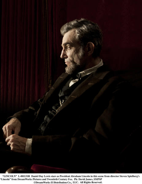 "So far, all anyone has seen is an eerily accurate-looking photo of Daniel Day-Lewis as Abraham Lincoln. Steven Spielberg stumbled with both of his efforts last year (""War Horse,"" ""The Adventures of Tintin""), but this drama about the president's final months in office should have awards voters foaming at the mouth."