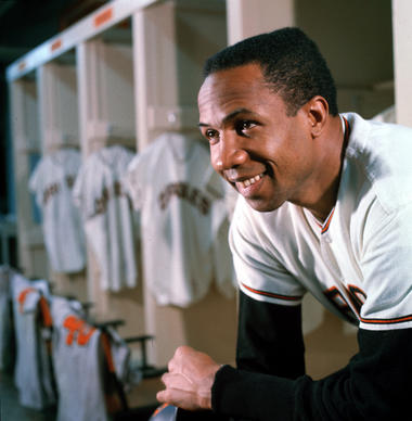 Elected to the Hall of Fame in 1982, Robinson totaled 586 home runs in an impressive career that included MVP awards in both leagues and the Triple Crown in 1966.