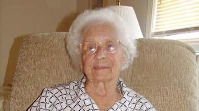Arbutus Pfeiffer of Petoskey is approaching her 100th birthday.