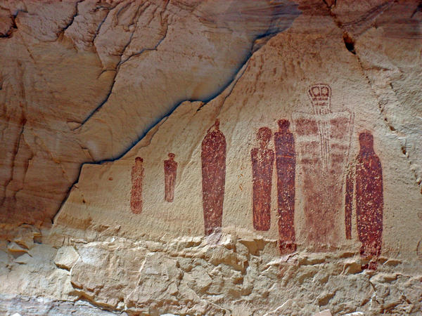Great Gallery in Utah's Horseshoe Canyon