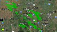 As remnants from tropical storm Isaac enter Indiana, Hoosiers can expect a wet weekend.
