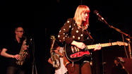 Wye Oak and Flock of Dimes play Scapescape tonight