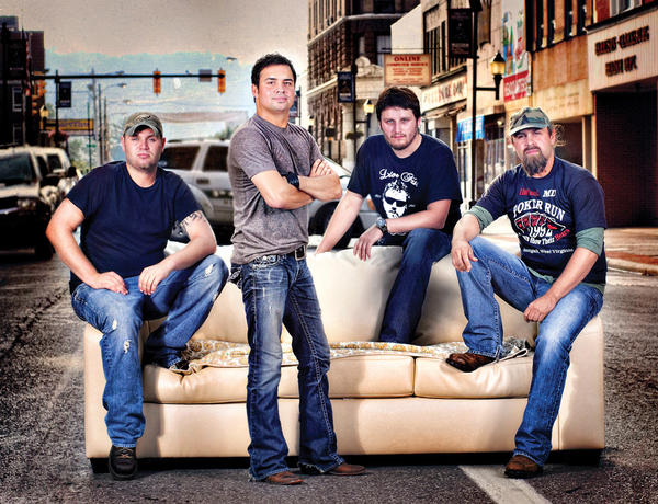 West Virginia-based band The Davisson Brothers Band will perform Friday at Pickin' in the Panhandle.