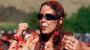 Photos: Tomato Battle food fight in Irvine