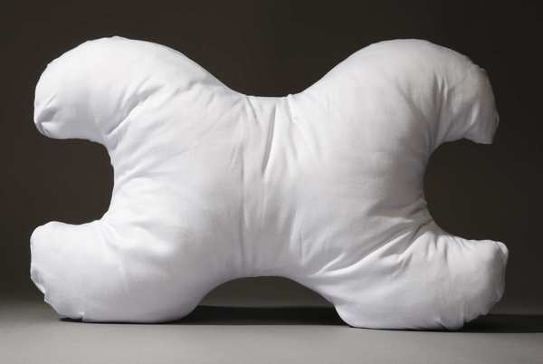 This pillow is said to help side-sleepers reduce the chance of facial wrinkles.