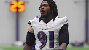Ravens do not provide an update on Upshaw injury