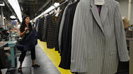 "Mark Falcone enjoys telling people that the cutters and sewers in his factory in Westminster made 300 suits for Will Smith, Tommy Lee Jones, Josh Brolin and the numerous extras of ""Men In Black III."" But, while the MIB movies might have popularized the black suit for men, mass-produced sameness is hardly English American Tailoring's thing."