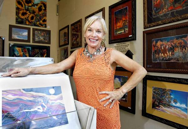 After 15 consecutive years of exhibiting her work at the Sawdust Art Festival's annual summer show, artist Linda Pirri is moving to the Kohala Coast in Hawaii.