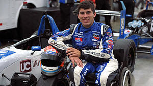 Michael Johnson aims to become first paralyzed driver in Indianapolis 500