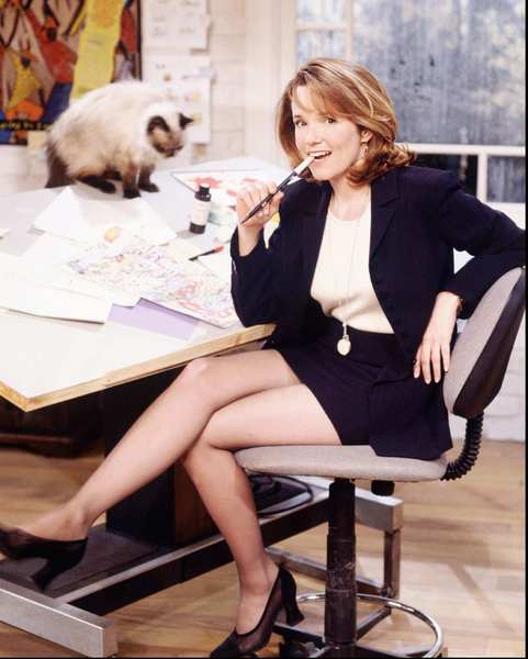 "Lea Thompson on ""Caroline in the City,"" 1995."