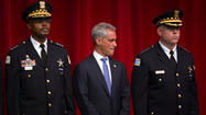 Mayor Rahm Emanuel has asked federal law enforcement for help in combating violence and drugs in two areas of Chicago that the city says have seen the highest increase in crime this year.