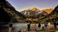 Colorado's Maroon Bells click with shutterbugs