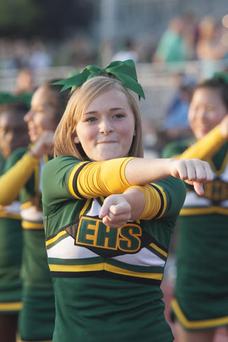 Faces in the crowd at Friday nights Emmaus Green Hornets football game against the Germantown Bears.