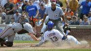 Cubs game action