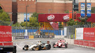 Crashes highlight the early action Saturday at Grand Prix of Baltimore