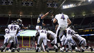 Standing a few inches from the back of the Ravens' end zone Thursday night, punter Sam Koch looked the football into his waiting hands before calmly booting a towering punt across midfield.