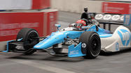Things didn't go well for Frenchman Simon Pagenaud in his first race. But that didn't stop him. And though he could find similarities to that first outing last weekend, he clinched The IZOD IndyCar Series' Rookie of the Year award at the Grand Prix of Sonoma.