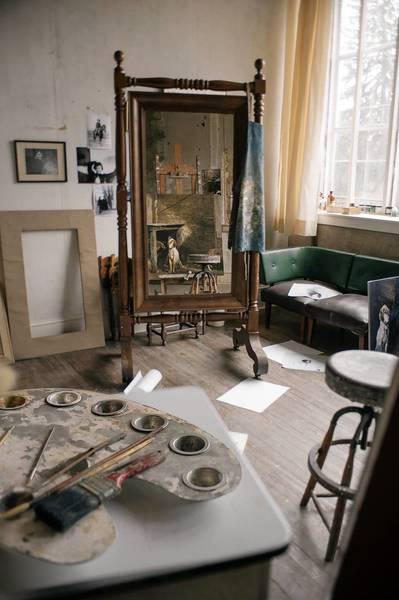 The Andrew Wyeth Art Studio in Chadds Ford is open for public tours.