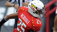 Terps notebook: Rough day for McDougle in secondary