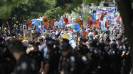 Protests of the Democratic National Convention