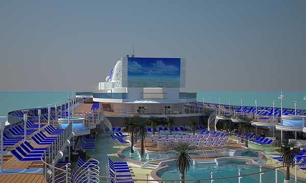 Pictures: The most unique cruise ship features - Renderings for new Princess Cruises ship the Royal Princess