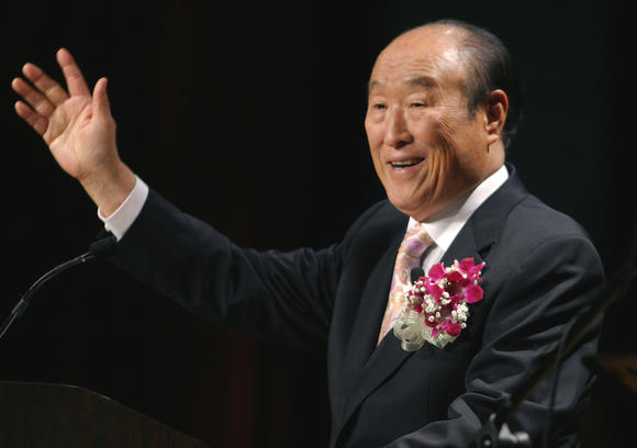 The Rev. Sun Myung Moon dies