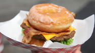 Ode to the Maryland State Fair's Krispy Kreme Burger