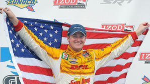 Ryan Hunter-Reay wins at Baltimore and closes the gap on the series championship