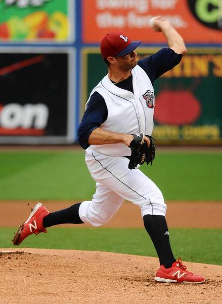 IronPigs pitcher Tom Cochran closed out his season with a strong effort.
