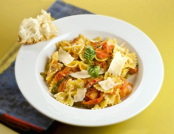 Butterfly pasta