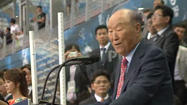 The Rev. Sun Myung Moon -- a controversial religious and political figure who founded the Unification Church, a major institution in East Asia and beyond that gained fame decades ago for its mass weddings -- died early Monday in South Korea, the church said.