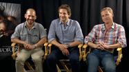 "Movie Mik sits down with Bradley Cooper and two of his longtime friends, Brian Klugman and Lee Sternthal, to talk about their new movie ""The Words."""