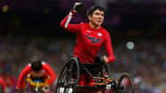 University of Illinois freshman Raymond Martin won his second Paralympics gold medal Monday afternoon.