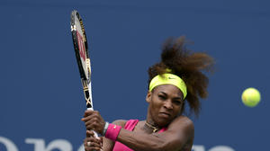 Serena rolls into U.S. Open quarterfinals