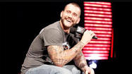 WWE Champion CM Punk made the late decision Monday to take a personal day.