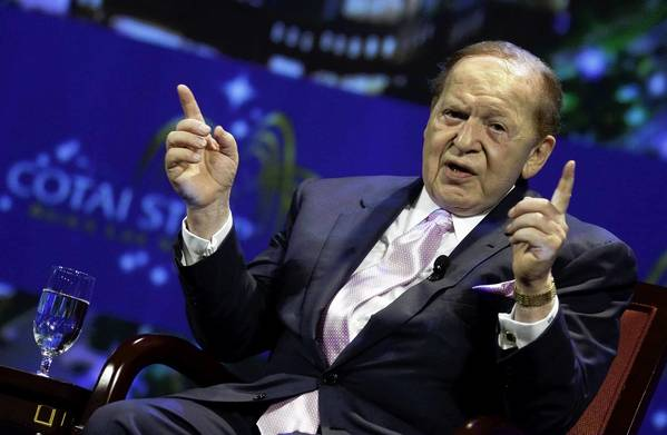 Sheldon Adelson has committed millions of dollars to Republican causes this election season.