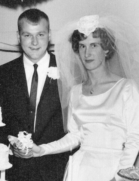 Mr. and Mrs. Roger Cyr, 1962