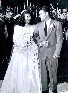 Mr. and Mrs. Bill Blanchard, 1947