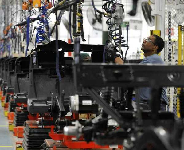 U.S. factory activity at 3-year low