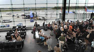 A record 2.22 million passengers flew through Baltimore/Washington International Thurgood Marshall Airport in July, a 0.8 percent increase to break the mark set in July 2011.