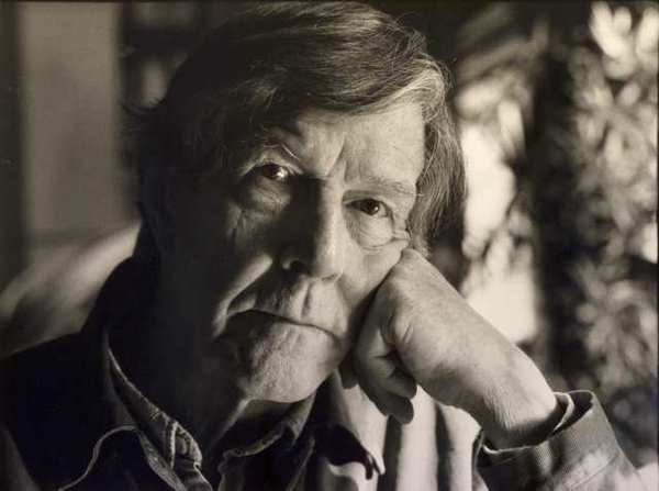 John Cage, in 1988. The late composer was born 100 years ago Wednesday in Los Angeles.