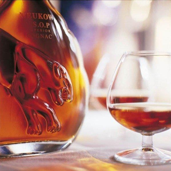 A more contemporary Meukow cognac than the one sold recently to a collector for more than $30,000.