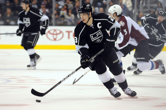 Dustin Brown of the L.A. Kings