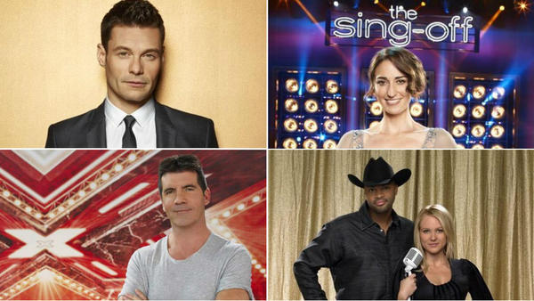 TV's singing competitions: How would they fare on the charts?: Another TV season, another passel of singing shows. And why not? The big ones tend to dominate the ratings season after season. But their star power may be on the wane. If these shows were musicians, none of them would be on the top of the charts. Will the new season -- and new challengers -- perk up the genre? Or are we stuck with the same old acts with shiny new costumes?