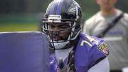 The Ravens' giant offensive left tackle Bryant McKinnie proved Tuesday that he is the biggest drama queen in the country.