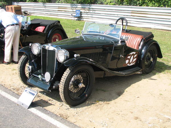 1939 MG TB Owned by Jeff Rafalaf, Westport CT.