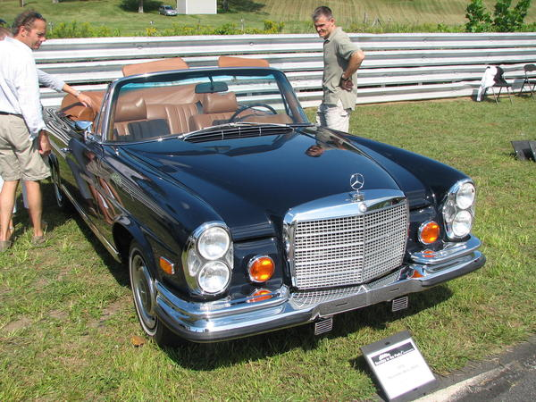 1974 Mercedes- Benz 280SE Owned by Duncan Dayton  Danbury, CT