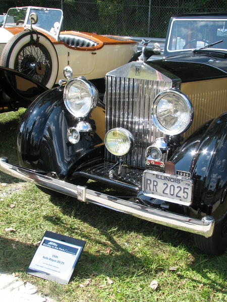 1935 Rolls Royce 20/25 owned by M.S. Koly, Darien CT.